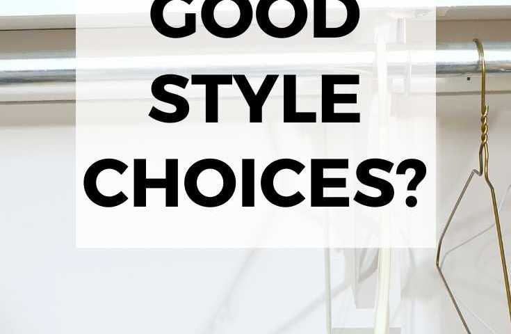 Got no good style choices text overlay image of empty closet