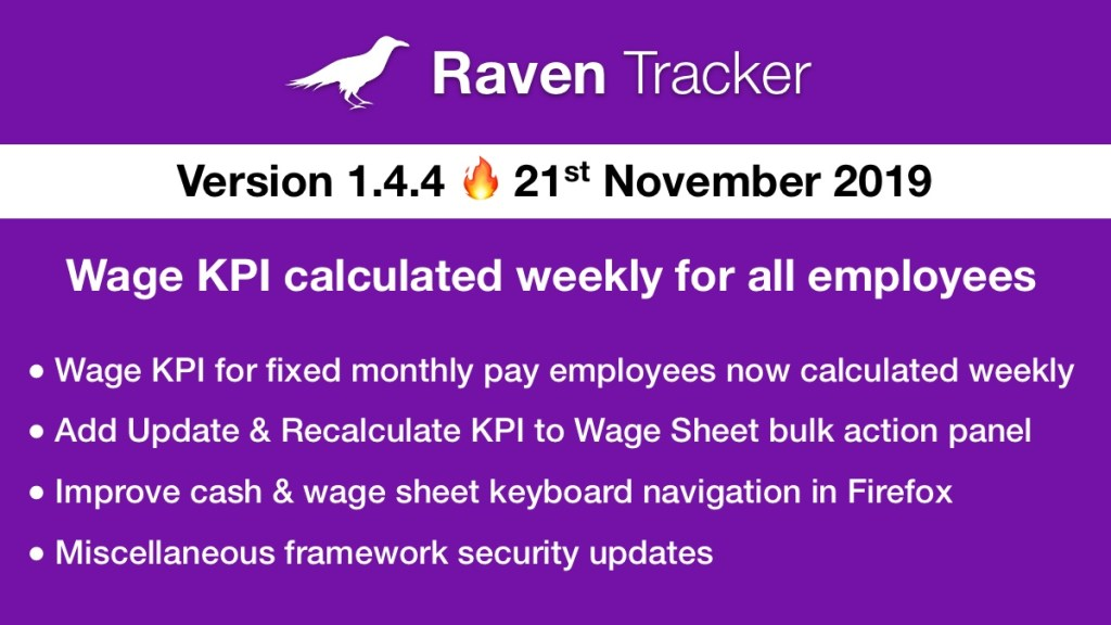 Raven Tracker 1.4.4