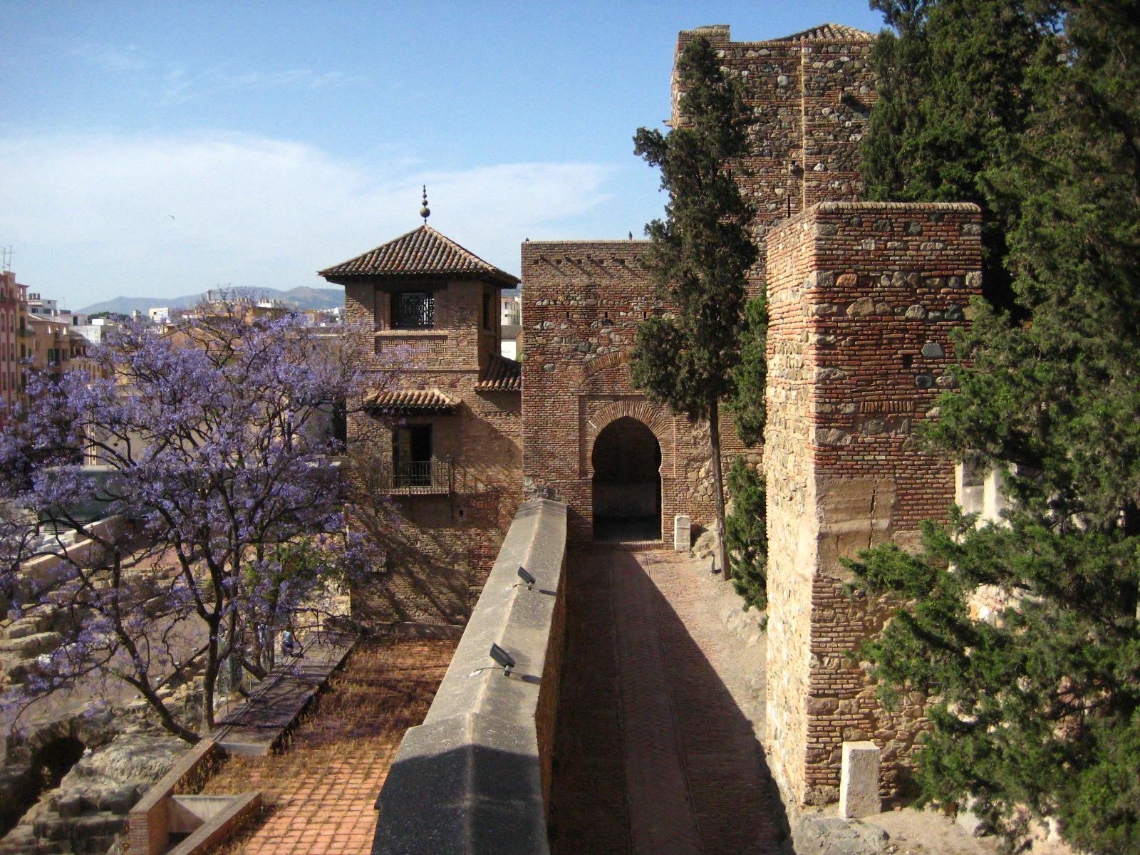 Alcazaba en Malaga
