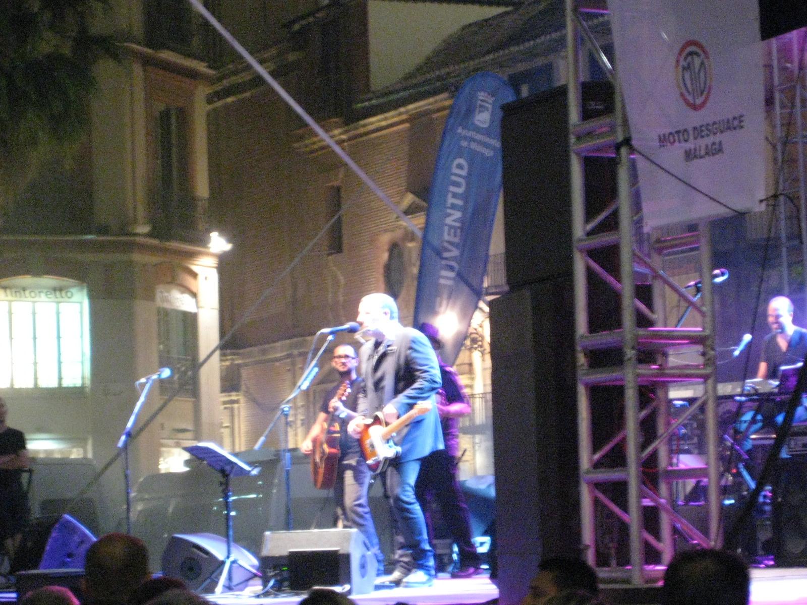 Carlos en Malaga