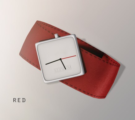 Oliver watch - red