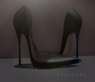 Astrid - charcoal