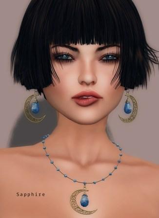 Oriental delight - sapphire