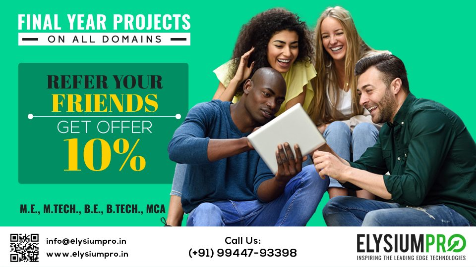 Final Year Projects Offers for Students