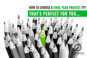 how to you select best final year projects