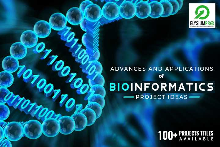 Applications of Bioinformatics