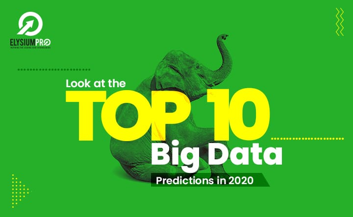 Big Data Predictions 2020