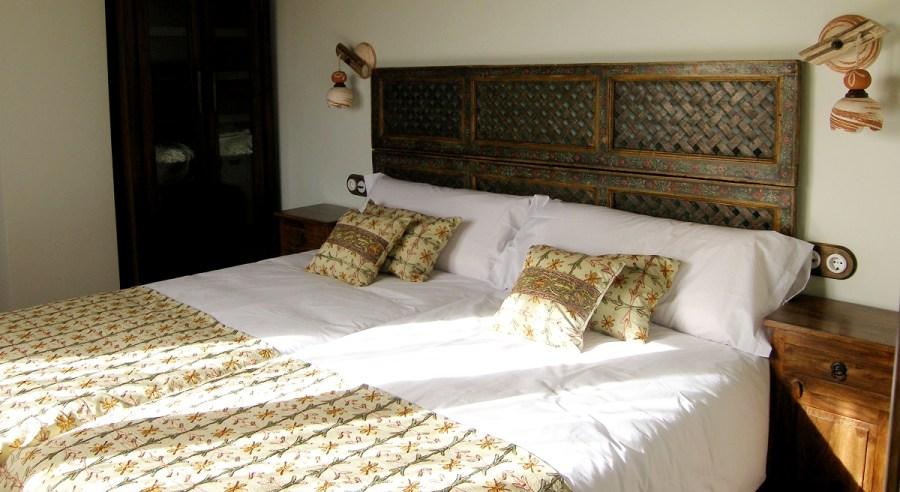 Luz natural entra por todos los dormitorios de la El Zahorí