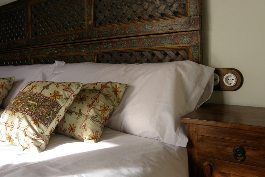 Detalle de una de las habitaciones