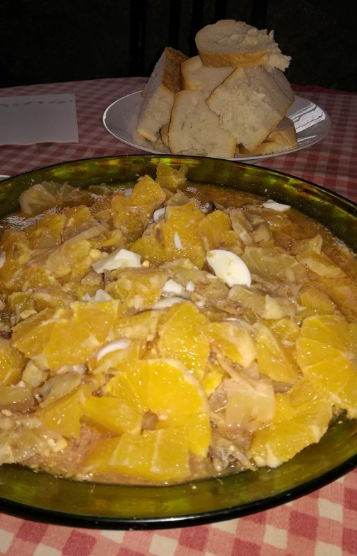 Limones Serranos, plato típico de la Sierra de Francia en Salamanca
