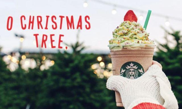 ¿Cómo de saludable es el nuevo Frappuccino navideño de Starbucks?