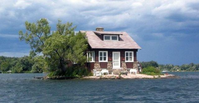Descubre la isla habitada más pequeña del mundo