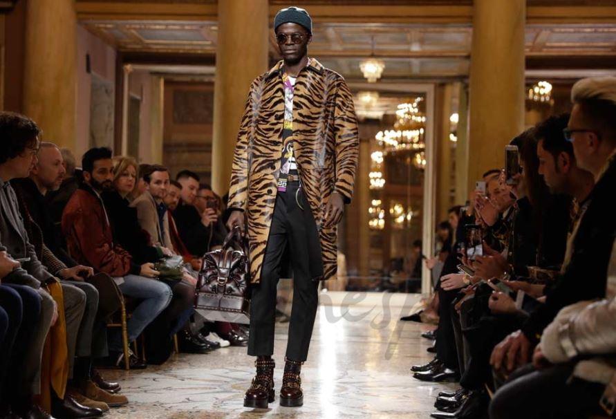 versace man fashion week