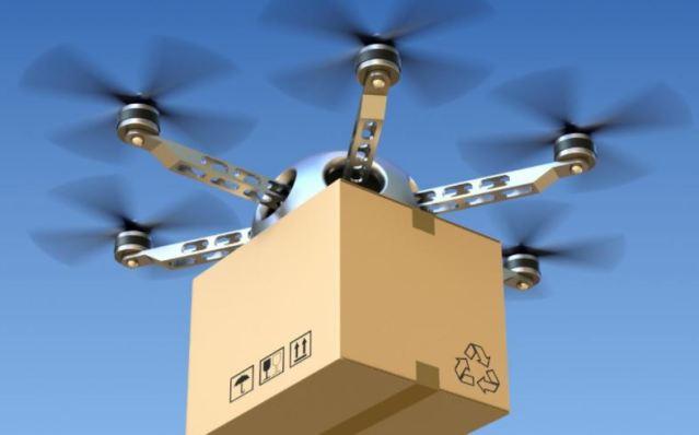 Drones repartidores de patente Amazon ya pueden reconocer el habla y los gestos