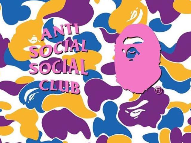 Anti Social Club confirma su colaboración con BAPE