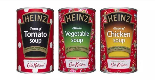 La popular sopa de tomate Heinz renueva su imagen tras 100 años