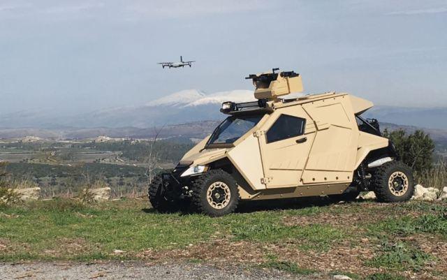 Plasan Yagu, el tanque perfecto para ir a trabajar o de excursión