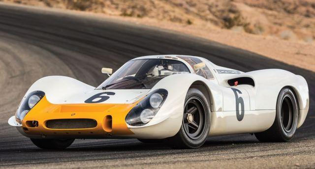 Este Porsche 908 Works Coupe del 68 se puede comprar