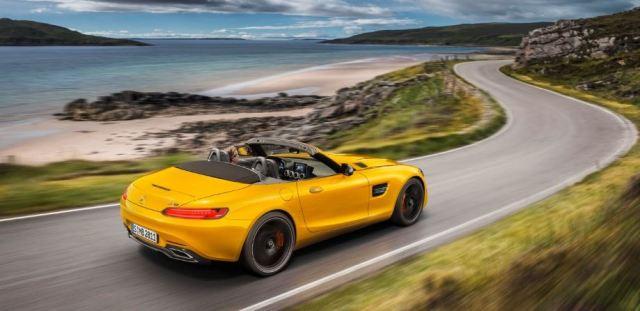 Mercedes-AMG lanza el GT S Roadster para 2019