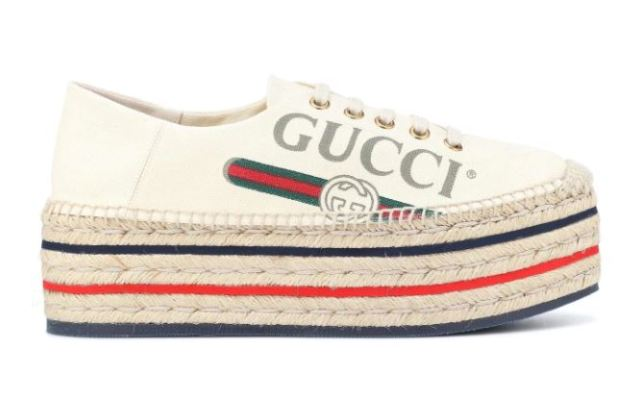 ¿ Nuevas alpargatas de Gucci ? ¿Por qué no?