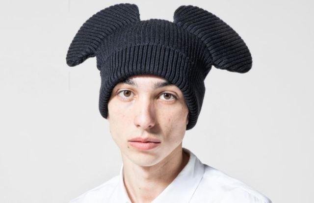 Prepárate para el otoño con los gorros con orejeras COMME des GARÇONS