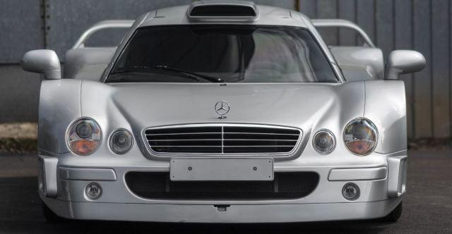 Uno de los 25 Mercedes-Benz AMG CLK GTR 1998 se encuentra ahora para subasta