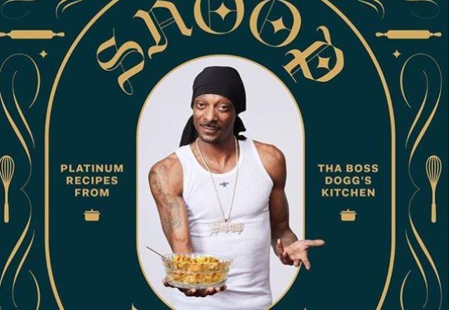Próximamente, el libro de Snoop Dogg sobre cocina