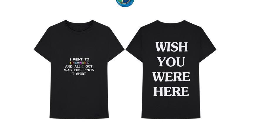 merchandising de Astroworld de Travis Scott