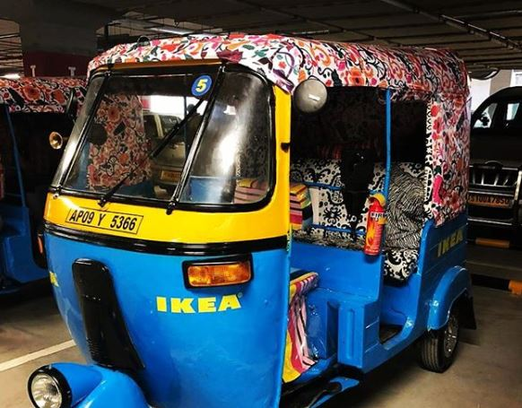 rickshaw en india