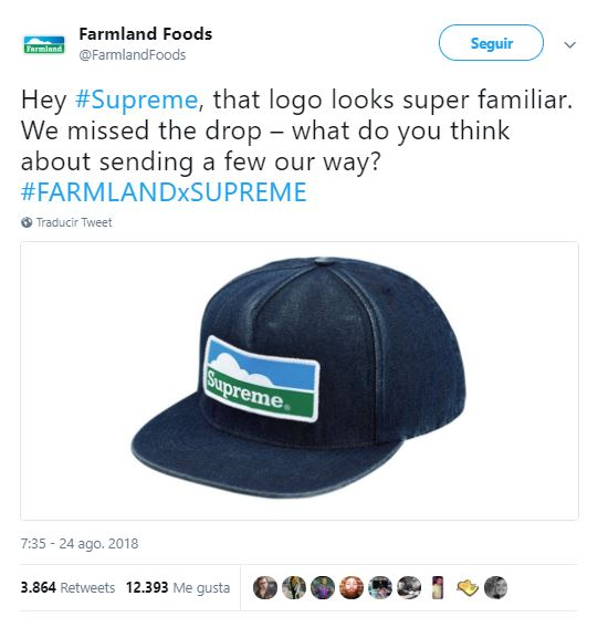 Supreme copia