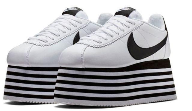 Las COMME des GARÇONS x Nike Cortez que te llevan al cielo ya están disponibles