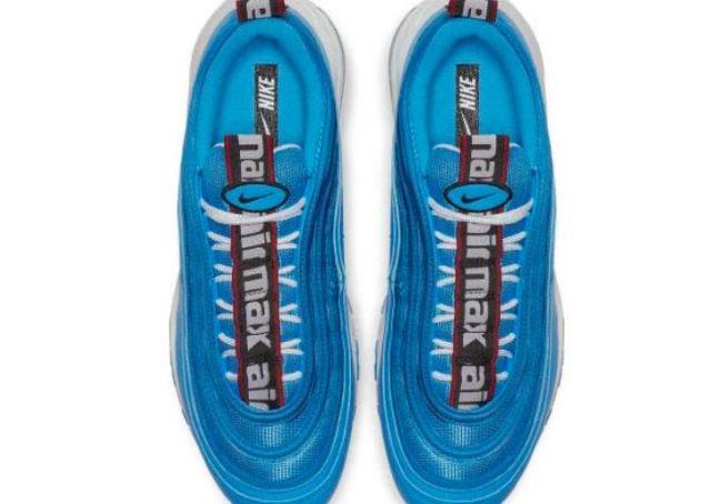 Cambio de imagen: Llegan las Nike Air Max 97 azules