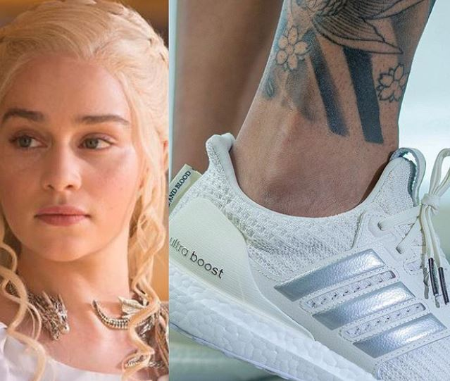 Un vistazo al siguiente modelo de Game of Thrones: House Targaryen x adidas UltraBOOST