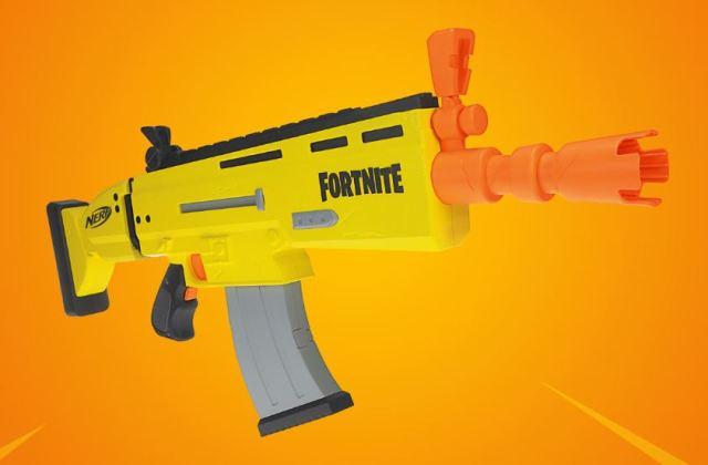 El arma SCAR de Fortnite obtiene una réplica de Nerf