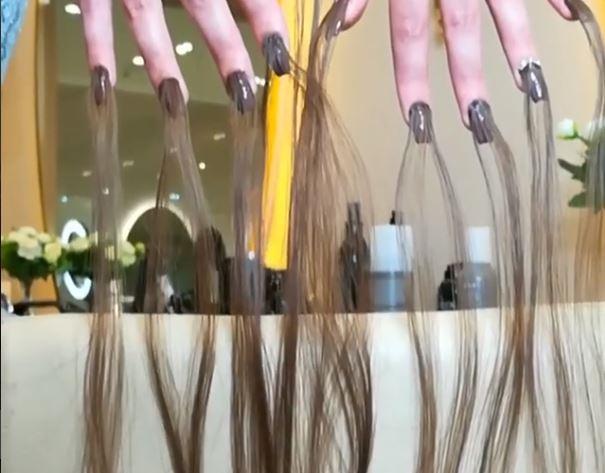 manicura del cabello