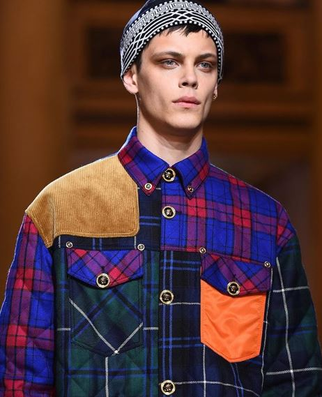 replica de la camisa Versace