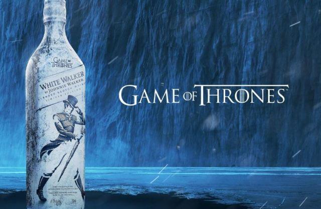 """Johnnie Walker y 'Game of Thrones' se unen para el whisky """"White Walker"""""""
