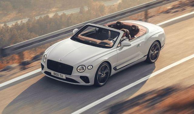 El Bentley 2019 Continental GT Convertible ya está aquí