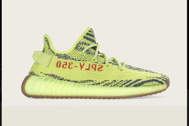 adidas volverá a lanzar las YEEZY BOOST 350 V2 Semi Frozen Yellow