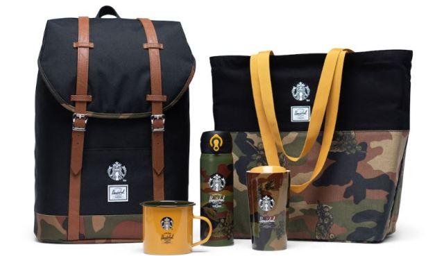 Nueva colección Starbucks, en colaboración con Herschel Supply