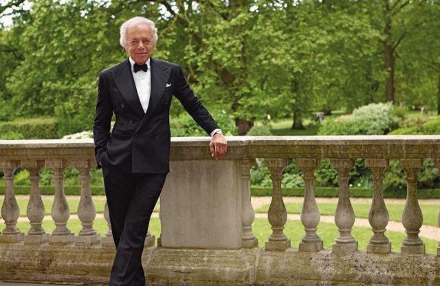 El diseñador Ralph Lauren, nombrado Caballero Honorario de la Excelentísima Orden del Imperio Británico