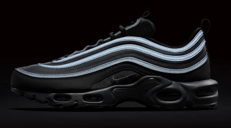 Nike lanza las Air Max 97 Plus en negro con detalles