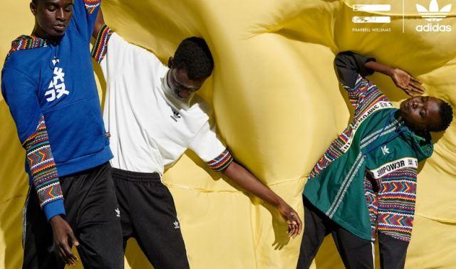 Nueva colección adidas x Pharrell 2018 para la temporada otoño / invierno