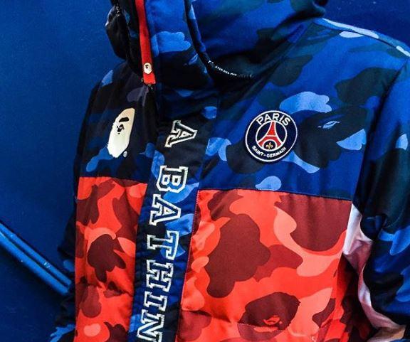 Paris Saint Germain x BAPE