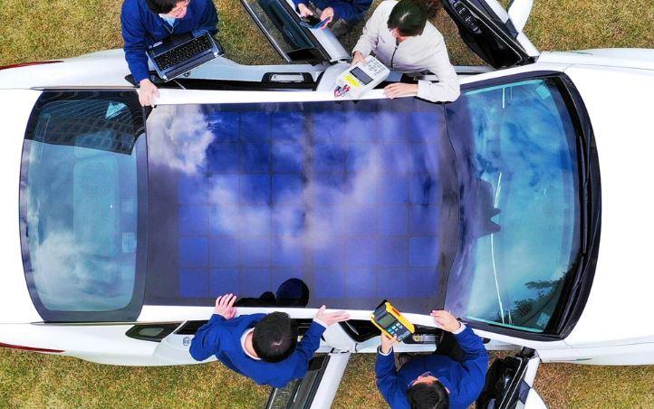 techo solar para vehículos