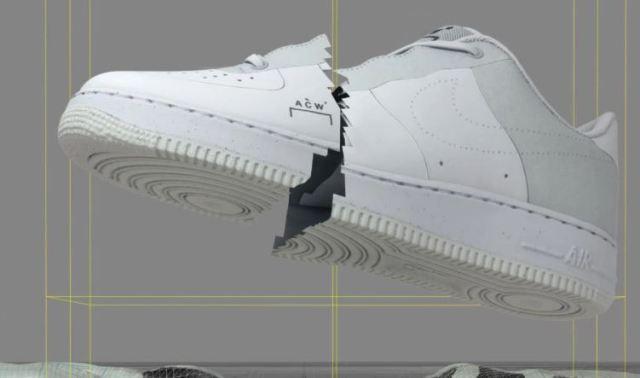 Nike revela la fecha de lanzamiento de las A COLD WALL x Air Force 1