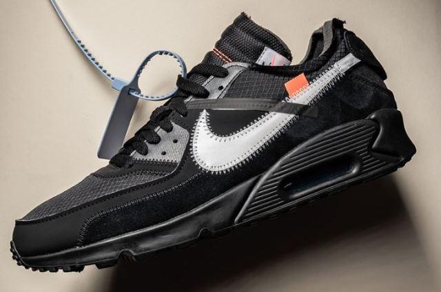 Las Off White x Nike Air Max 90 Negras podrían llegar el próximo mes