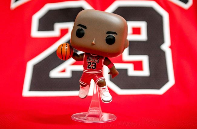 Funko Pop de Michael Jordan