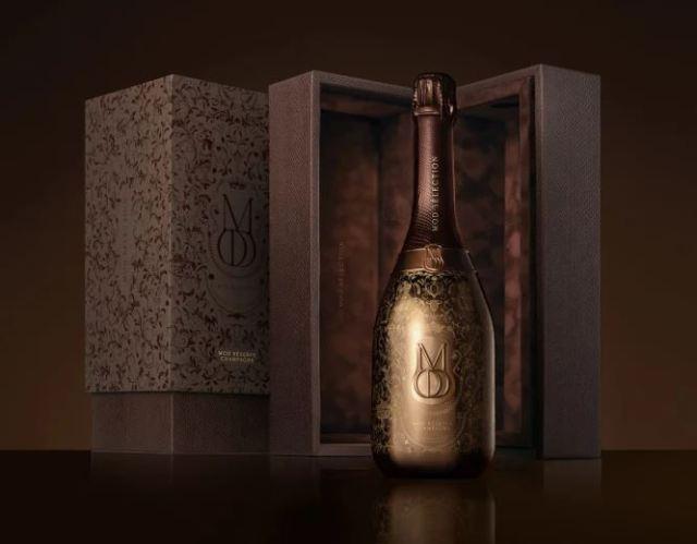 Drake lanza nueva línea de champán: Mod Sélection