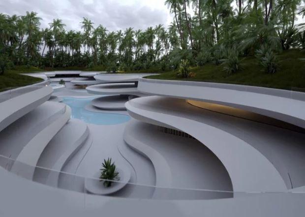 piscina subterránea